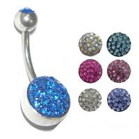 Best Hot selling 316 stainless steel fahion belly ring piercing jewelry wholesale