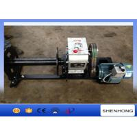 China 220 Voltage Electric Cable Pulling Winch / Cable Drum Winch Stringing Equipment on sale