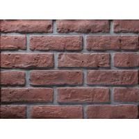 Cheap 12mm Thickness Thin Brick Veneer For Wall Cladding With Special Antique Texture for sale