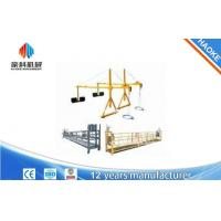 Quality 2 x 1.8 kw Suspended Scaffolding Single Phase Suspended Platform Cradle ZLP800 wholesale