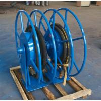 China Advanced Retractable Hose Reel SGS Approved High Safety For Movable Gas on sale
