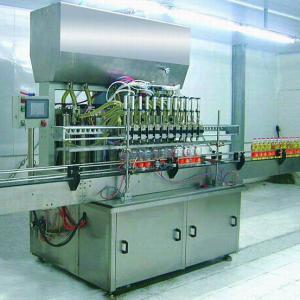 Cheap Quantitative Automatic Lube Oil Filling Machine 2000×1300×2800MM for 5L PET for sale