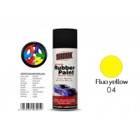 Best Fluo Yellow Color Spray Paint Remover 12pcs / Ctn For Car Coating wholesale