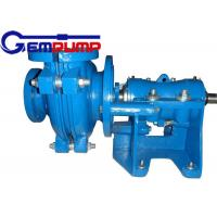 Best 50B-L Low Abrasive Centrifugal Slurry Pump horizontal double shell axial suction wholesale