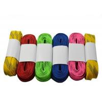 Best Heavy Duty Waxed Ice Hockey Laces Custom Package Design Tight Moulded Tips wholesale