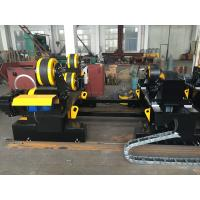 Best Motorized Moving HGZ - 60 Self Adjustable Welding Turning Rolls Coated With PU Wheels wholesale