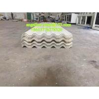 Best Plastic PVC sound and heat insulation hollow roof tile making machine wholesale