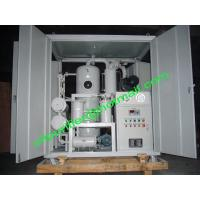 China Supply 50KVA to 400 KVA Transformer Used Oil Purification System,oil cleaning plants  With Weather Proof Shelter on sale