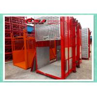 Best Man And Material Construction Elevator Double Cage Overload Protection wholesale