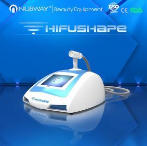 Portable HIFUSHAPE high intensity focused ultrasound hifu machine for body slimming