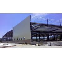 Quality Custom Residential Industrial Steel Structures , Sandwich Panels Light Steel Structure Warehouse wholesale