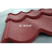 Best China Low Price Stone Coated Metal Roof Tile / Colorful Stone Coated Metal Shignles / Metro Roofing Sheet wholesale