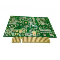 Best 6 Layers Custom Printed Circuit Board High TG FR4 Multilayer PCB With Golden Finger wholesale
