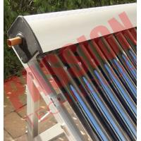Cheap High Absorption Heat Pipe Collector , Solar Hot Water Collector Pitched Roof Installation for sale