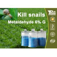 Best 108-62-3 Metaldehyde 6% G Pesticides For Agriculture Control Of Slugs And Snails wholesale