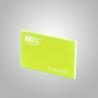 Buy cheap Tansparent Fluorescent Green Thin Flexible Plastic Glass Sheet Custom Cut from wholesalers