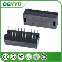 China KH2001DR DIP Mounting 10/100 magnetic Isolated Transformers 20 pins on sale