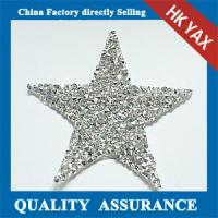 Best China Supplier rhinestone patch hot fix,hot fix patches rhinestone for clothing wholesale
