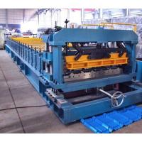 Best 7.5 Kw Gimbal Gearbox Drive Roof Rolling Forming Machine PLC Frequency Control System wholesale