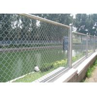 Best 2.5mm Galvanized Chain Link Fence Galvanised Chain Link Fencing for Garden wholesale