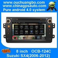 Best Ouchuangbo Android 4.0 Suzuki SX4 2006-2012 Auto Multimedia DVD Player Analog TV RDS 1080P Video S150 System OCB-124C wholesale
