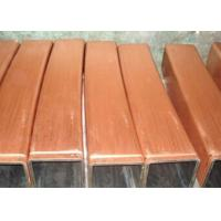 Best Square copper mould tube TP2 material for continuous casting machine wholesale