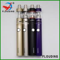 Best Rechargeable pen Vapor E Cig stainless steel, buttom USB charge, 1600mah smoking oil vaporizer wholesale
