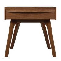 Details Of Eco Friendly Square Mdf Smart Nightstand Desk