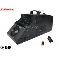 Cheap 110 - 130v Single Wheel Stage Fog Machine , 8m Output Distance for sale