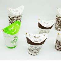China Foldable Chicken Recyclable Paper Cups Box Disposable PBS Lamination Stable on sale