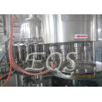 Cheap Pet Bottle Tea Hot Filling Machine 12000BPH , 3 in 1 Washing Filling Capping for sale