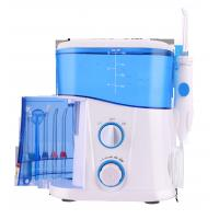 Best Five Unique Tips Professional Manual Oral Irrigator With Removable 1000ml Water Tank wholesale