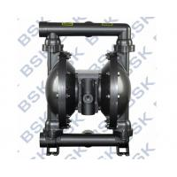 Cheap Air Operated Double Diaphragm Pump Teflon / Rubber For Oil Paint for sale
