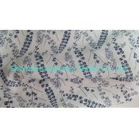 """Best Width 51"""" Cotton Poplin Ramie Linen Fabric with All Over Print wholesale"""