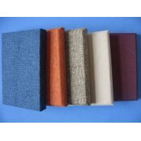 Fabric Wall Panels Decorative : Details of decorative fabric wrapped wall panels