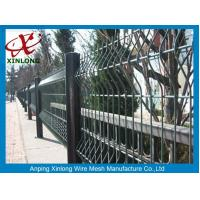 Multi Function Wire Mesh Fence Green / Red / Yellow / White / Blue Color