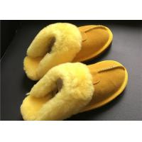 Buy cheap LADIES SHEEPSKIN LUXURY MULE SLIPPERS lamsbwool-lined slipper mule with sheepskin from wholesalers