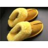 Buy cheap LADIES SHEEPSKIN LUXURY MULE SLIPPERS lamsbwool-lined slipper mule with sheepskin from wholesalers