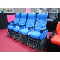 Best Blue 4 Seats 1 Sets 4D Home Cinema Equipment With Foot Support wholesale