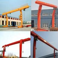 Best L 10 tons - 16 m electric hoist gantry crane, single-girder gantry crane wholesale