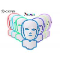 Best 7 Colors LED Light Therapy Face Mask SPA Facial Rejuvenation / Anti Eye Wrinkles wholesale