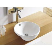 Best single faucet hole wall hung mounting ceramic ware wash basin corner basin wholesale