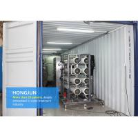 Best RO Mobile Water Purification Plant , Mobile Water Treatment Systems 1 Year Guarantee wholesale