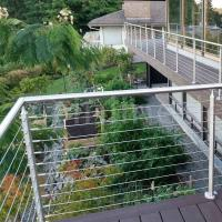 Cheap Stainless Steel Tension Wire Railing Cable Balustrade for Terrace for sale