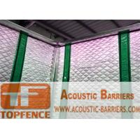 Best Temporary Sound Barriers Fence 40dB noise Industrial Acoustic Curtains Waterproof Acoustic Sound Barrier wholesale