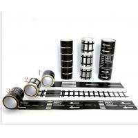 China Custom Road Pla Decorative Adhesive Paper Craft Tape Fit Parents - Child Games on sale