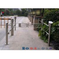 Best High Speed Double Core Biometric Swing Barrier Gate Stainless Steel for Fitness Center wholesale