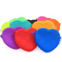 Best 2014 new fasion wallet Silicone Heart Purse ,OEM accepted wholesale