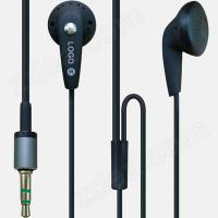 Best high quality free ear buds with custom logo printed wholesale
