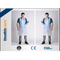 Best FDA CE Disposable Patient Bibs And Underpads Medical Colored LDPE HDPE Apron wholesale